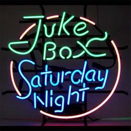 Wholesale Outdoor Light Boxes Signs - Juke Box Glass LED Neon Sign DIY Flex Rope Light Indoor Outdoor Decoration RGB Voltage 110V-240V