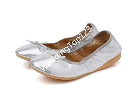 Wholesale Wholesale Variety Shoes - Surprise price! A variety of color comfortable Cheap and fine Roll Up Shoes Wedding Foldable shoes