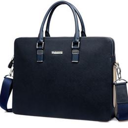Wholesale Bag For Laptop Genuine Leather - Wholesale- TL786 2016 hot Brand Casual Men Briefcase Genuine Leather Men's Messenger Bag For 14 Inch Laptop Business Travel Handbags Should