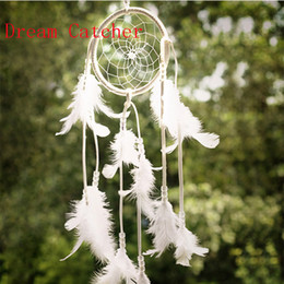 Wholesale Living Room Curtains Wholesale - Dream Catcher Antique Imitation Enchanted Forest Dreamcatcher Gift Handmade Dream Catcher Net With Feathers Wall Hanging Decoration Ornament