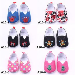 Wholesale Fedex Shipping Slip - New Arrival Baby Shoes Various Color and Picture Fabric Cartoon Pattern Animal Prints Free Fedex Shipping