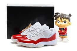 Wholesale Medium Sized Star - Wholesale retro low 11 Cherry Midnight Navy man and woman basketball shoes retro 11 Varsity Red sports shoes size eur 36-47 top quality