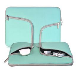 Wholesale Tablet Ipad Bag - Water Resistant Chromebook Bag 11 13 14 15 inch Zipper Sleeve Laptop Case For Tablet iPad Macbook Laptop Notebook
