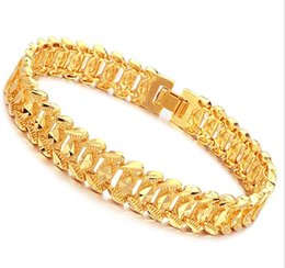 Wholesale Infinity Jewellery - JEWELLERY Luxury 18K Gold plated bracelet brand new design width 11mm infinity Bracelet & bangle Fashion FREE SHIPPING 163
