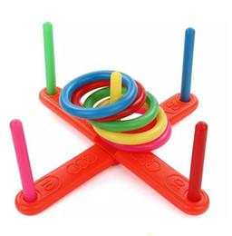 Spielzeug freuden online-Kinder Outdoor Fun Toy Sport Ring springen Joy Ferrule Wurfspiel Eltern-Kind-Interaktion Klassisches Indoor Outdoor Spielzeug Outdoor Erholen