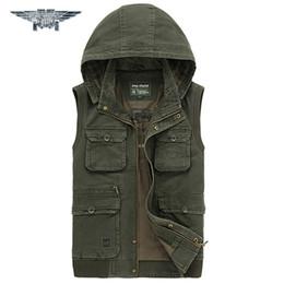 Wholesale Men Travel Vest - Fall-2016 Summer New Outdoors Travels Sports Vest Tops Mesh Vest Plus Size M-4XL Photographer Vests Men Pockets Jacket #jpzc8585