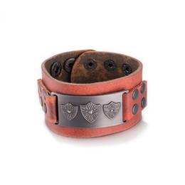 Hot bracelets bracelet en cuir cadeau de Noël cool street style bijoux hip-hop millésime de bonne qualité livraison gratuite ? partir de fabricateur