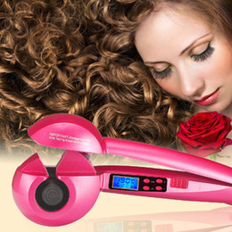 Wholesale Hair Dryer Stick - Professional Wave Roller Magic Curlers Heating Automatic Curling Iron Stick Auto Hair Curler Hair Care Styling Tools