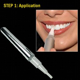 Wholesale Teeth Whitening Laser Kits - HiBryt 10-MIN Teeth Whitening Kit Teeth Whitening Pen + LED Laser Tooth Whitener Light Clean Stain Whiten Dente Oral Hygiene