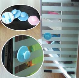 mesa em forma de u Desconto Atacado - 2 cores encantadoras Rodada Baby Care Edge Guardas Móveis Gabinete Janelas Doorknob Safety Protector 100 pçs / lote