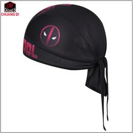 DEADPOOL Breathable Multi Function Women Mens Bike Bicycle Hat Headscarf  Cycling Cap Bandana Hood MTB Headband Pirate Head Scarf 5ee328b0b
