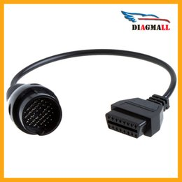 Wholesale Mercedes 38 Pin Connector - Mercedes Benz Adapter Cable BENZ OBD2 38 Pin to 16 Pin Diagnostic Connector For MB Series