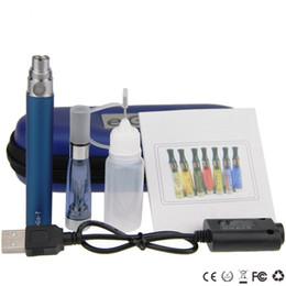 Wholesale Egot Starter Kits - ego ce5 starter kits CE5 egot electronic cigarette kit ce5 clearomizer 650mah 900mah 1100mah ego t battery full capacity