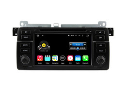Wholesale E46 Dvd Gps Player - Quad Core Android 5.1 Car DVD Player For 3 Series E46 1998-2006 (Old 17-Pin connector) 3 Series E46 2002-2006 M3