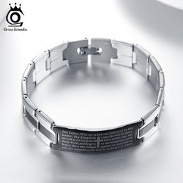 Wholesale Cm Birthday - 20 CM Length Fashion Trendy Birthday Gift Stainless Steel Men's Bracelet Wholesale Bracelet & Bangle Jewelry GTB14