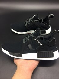 Wholesale 2016 NMD XR1 x Mastermind Japan Skull Men s Casual Running Shoes for Top quality Black Red White Boost Fashion Sneakers Size