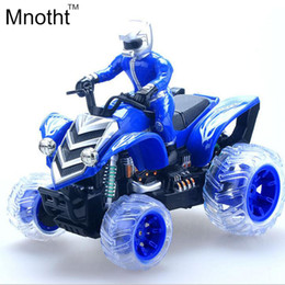 Wholesale Toy Remote Motorcycle - Wholesale- 1:12 Charging Remote Control Motorcycle Toys Beach Flip Strolling Stunt With Flashing Music of Children's Toy High Speed Racing