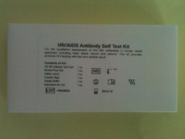 Wholesale Hottest Wholesale Items - (5 tests lot)One Step Anti-HIV(1&2) Test for Personal Home Use HIV AIDS Antibody Blood Self Test Kit Hot Items