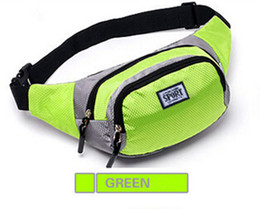 Wholesale Travel Bowl Zipper - Multi-functional Sports Waist Pack Fanny Bag Chest Backpack 4 Zippers Waterproof Outdoor Waist Bag for Cycling Travel Hiking Camping Fishing