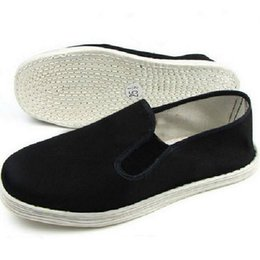 Wholesale Tai Chi Kungfu Shoes - Wholesale-Beijing Comfortable Kungfu shoes multi-layered sole handmade new arrival tai chi shoes anti-odor cotton-made breathable shoes