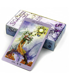"""Wholesale Tarot Cards For Wholesale - Wholesale- """"Shadowscapes Tarot"""" Board Game 78 PCS Set Beautiful Cards Game Chinese English Edition Tarot Board Game For Friends"""