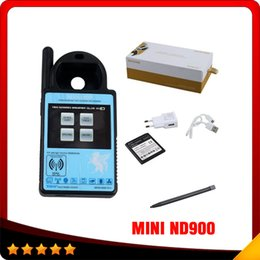 Wholesale Id46 Chip Honda - Smart MINI ND900 Trasponder Key Programmer for 4C 4D ID46 72G Chip Copy Machine Update via Internet DHL free