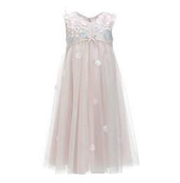 Wholesale Waist Tutu Dress - Girl Dress 2016 Girls Summer Dress Brand Mesh Kids Dresses for Girls Clothes High Waist Girls Lace Dress Kids Clothes
