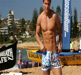 Wholesale canvas pants - Men Shorts 2016 Pattern New Cool Mens Beach SHORT Swimming Swim Trunks Shorts Slim Pants Swimwears Men Swimming Trunks Fox Mens Swim Shorts