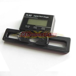 Wholesale Trex Helicoptero - TL90 Main Blade Digital Pitch Gauge W LCD Display Align TREX 250 450 500 600 700