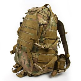 Discount tactical molle pack - Hot Sale Outdoor Molle Tactical Assault Bags Camping Hiking Camouflage Backpack With Additional Pack for Athletic Hunting CL5-0010