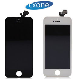 Wholesale Iphone Touch Screen Oem - Best Quality Lcd Replacement For iPhone 5 5C 5S SE Lcd 100% OEM Touch Screen Display Digitizer with Frame Full Assembly Free Shipping