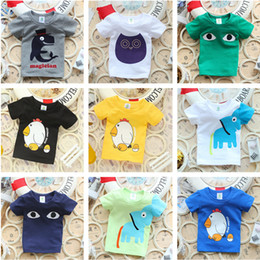 Wholesale Teen Boys T Shirt - 2016 Summer New Children More style T Shirts Boys Kids T-Shirt Teen Clothing For Boys Girls Baby Clothing Girls T-Shirts