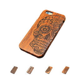 Wholesale Engrave Wood Cover - S5Q Natural High-grade Wood Engraving Vintage Phone Case Cover For Apple iPhone 6s AAAFZT
