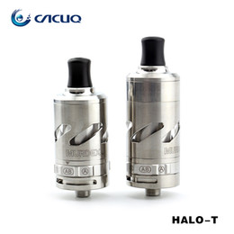 Wholesale Wholesale Halo Rings - Authentic Goldreams Murdex HALO-t ss RDTA Atomizer Kit with murdex halo rdta system extended chamber and o-ring