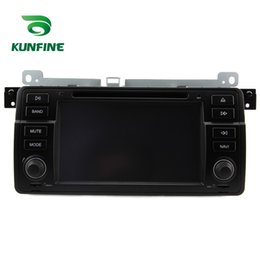 Wholesale Car Dvd Gps E46 Android - Quad Core 1024*600 Android 5.1.1 Car DVD GPS Navigation Player Car Stereo for BMW E46 1998-2006 Radio 3G Wifi Bluetooth KF-V2197Q