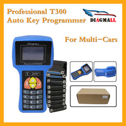 Wholesale T Code Car Key - Newest V15.8 T300 T-300 T-Code Auto Programming Too T 300 Key Programmer For Multi-Cars Free Shipping