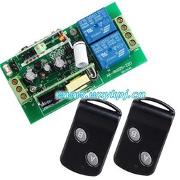 Wholesale Wireless Rf Remote Switches - 85V-250V Wide Range Output RF wireless remote control system 1 Receiver & 2 Transmitter switch livolo