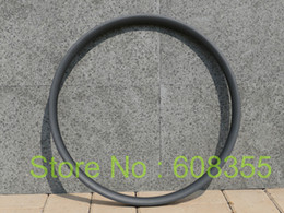 "Wholesale Mountain Bike 29er Wheels - Wholesale-3k UD Carbon Matt Glossy 29er MTB Mountain Bike Clincher Wheel Rim 29"" Dis brake"