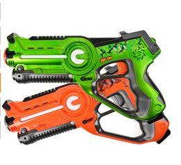 Argentina 2018 Hotselling Legacy Toys Laser Tag Set para Niños Fiesta de Cumpleaños Lazer Tag Blasters Light Strike Asalto Striker con Simple Target Suministro