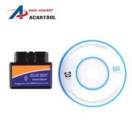Wholesale Top Selling Diagnostic Reader - Top selling SUPER Mini ELM327 Bluetooth obdii car diagnostic Interface mini 327 mini elm 327 bluetooth Auto Scanner