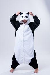 trajes kung fu panda Desconto Kigurumi Pijama Kung Fu Panda Traje Cosplay Pijama sleepwear Animal nightclothes terno Noite Frete grátis