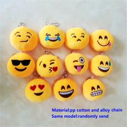 мягкий игрушечный сотовый телефон Скидка Emoji QQ плюшевые брелоки мультфильм фигурку кулон брелок мобильный телефон фаршированные брелок игрушки подарок 10 * 10*2 см WX-T49