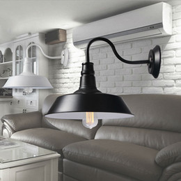 Wholesale Outdoor Light Switch - Vintage Idustrial Retro Age Simple Style Barn Wall Lamp Sconce Indoor or Outdoors Light