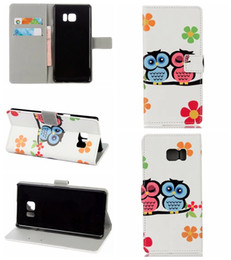 Wholesale Iphone Wallet Case Uk - UK Flag Wallet Leather For Iphone 7 Plus Galaxy Note7 Flower Butterfly Eiffel Card Owl Zebra Credit Tower Leechee Flip Cover Slot Case Pouch