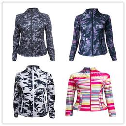 Wholesale Sweatshirt Outerwear Jacket - many color style lady scuba hoodie lulu define jacket yoga hoodies Sweatshirts coat top sportswear woman whosale original Outerwear