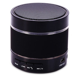 Wholesale Colorful Buttons For Sale - Hot Sale Speakers S09 Colorful Light Portable Wireless Bluetooth Stereo Speaker With Built-in Microphone USB AUX Slot