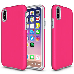Wholesale Chinese Quality - Shockproof Antiskid Case For IPhone X 8 7 6 6S Plus Case Protective High Quality Cell Phone Cases For Samsung Note8 S8 S8Plus