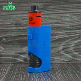 Wholesale E Cigarette Europe - 2016 Europe hot selling kanger dripbox e-cigarette starter kit silicone case cover, colorful kanger dripbox 60w protective silicon sleeve