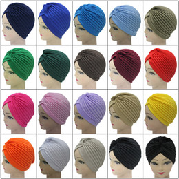 Wholesale Head Covers Beanies - Cap Indian Muslims Head Covering Hat Scarf Cap Bath Hat For Men And Women Hip-Hop Performances Solid National Cap Can Be Printed Logo