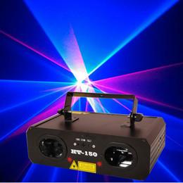 Wholesale Red Beam Disco Light - Blong HT-150 RB 500mw Laser Light Bule&Red Beam Laser Light DJ Club Stage Lighting Disco Dance LED Effect Lights
